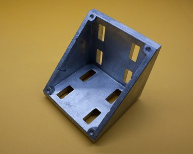 TNUTZ P//N CB-045-A 45 Series 2 Hole Inside Corner Gusset with tabs