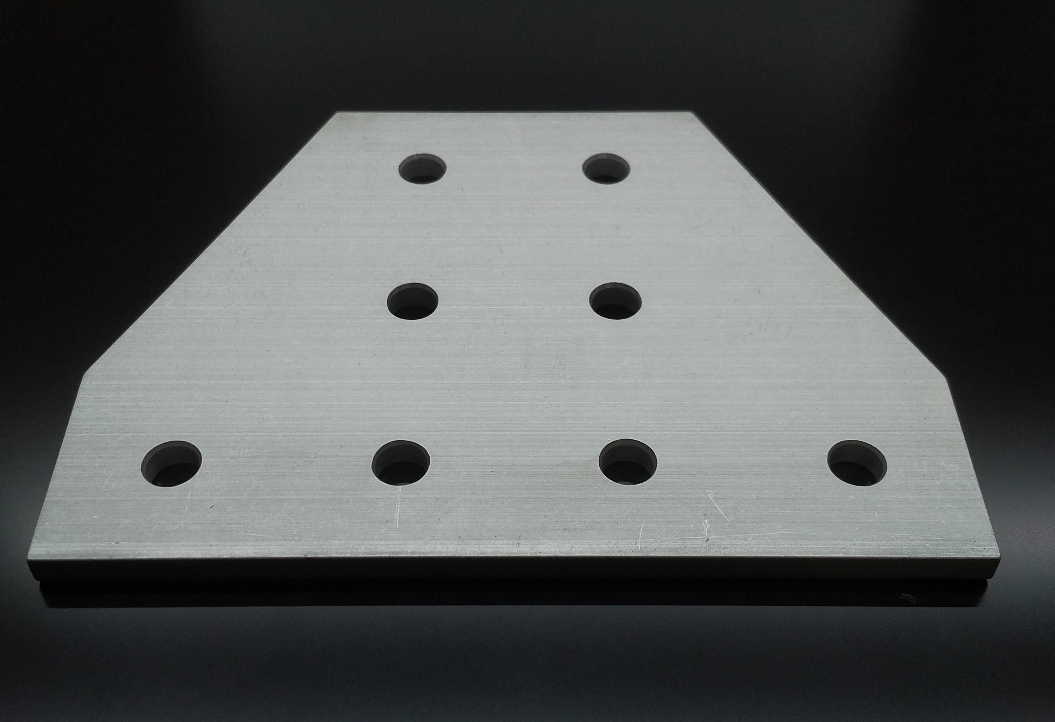 80//20 8 Hole Tee Joining Plate