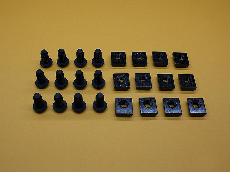 (12) 5/16-18 x 5/8″ Button Head Screws & (12) Standard T-Nuts