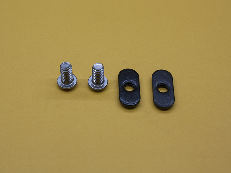 (2) 1/4-20 x 1/2″ STAINLESS Button Head Screw & (2) Economy T-Nuts