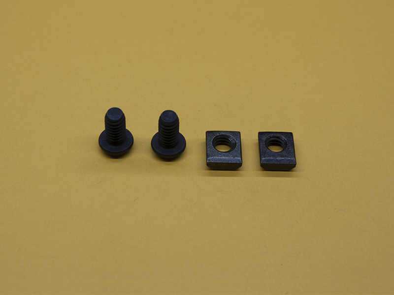 (2) 1/4-20 x 1/2″ Button Head Screws & (2) Standard T-Nuts