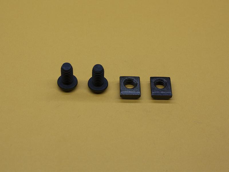 (2) 1/4-20 x 1/2″ Button Head Screws & (2) Standard T-Nuts