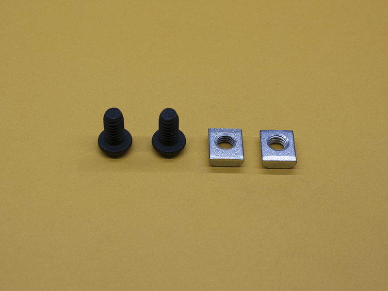 (2) M6 x 12mm Button Head Screw & Standard T-Nut