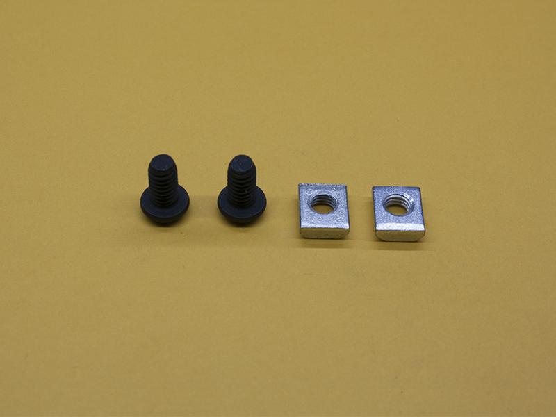 (2) M6 x 12mm Button Head Screw & Standard T-Nut