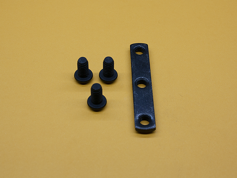 (3) 1/4-20 x 1/2″ Button Head Screws, (1) Triple Economy T-Nut