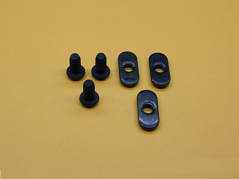 (3) 1/4-20 x 1/2″ Button Head Screws, (3) Economy T-Nuts