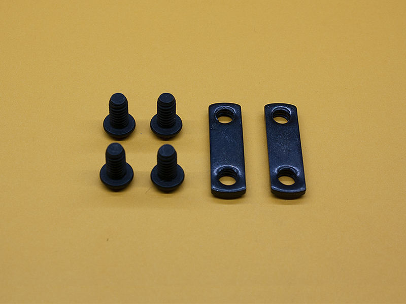 (4) 1/4-20 x 1/2″ Button Head Screws & (2) Double Economy T-Nuts