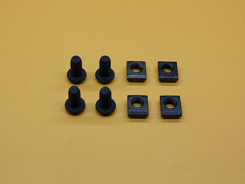 (4) 1/4-20 x 1/2″ Button Head Screws & (4) Standard T-Nuts