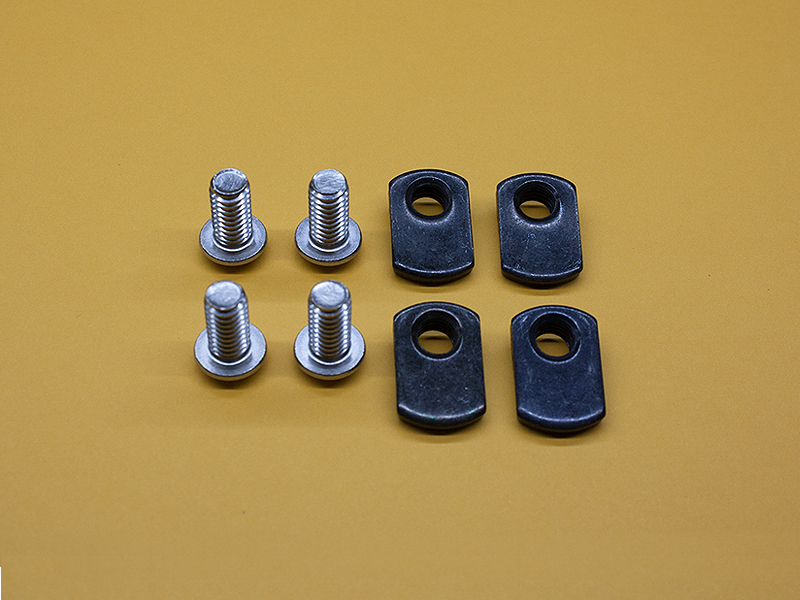 (4) 5/16-18 x 5/8″ STAINLESS Button Head Screws & (4) Economy T-Nuts