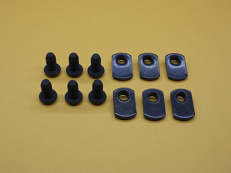 (6) 5/16-18 x 5/8″ Button Head Screws & (6) Economy T-Nuts